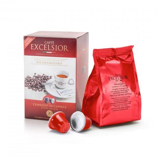 Coffe Capsules Kilimanjaro Nespresso compatible