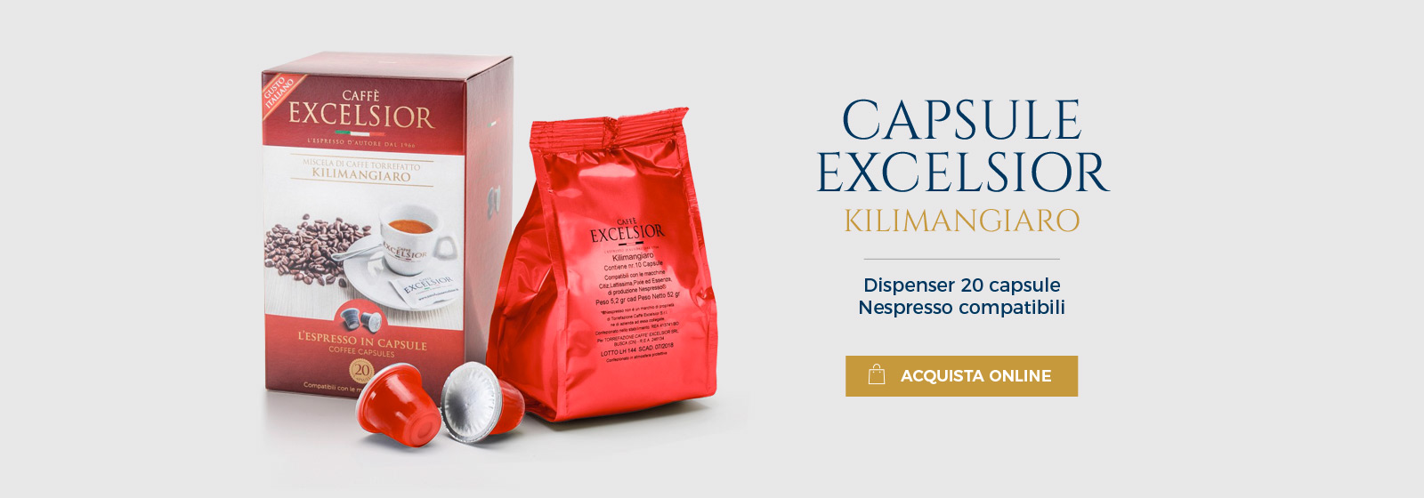 Capsule Caffè Kilimangiaro